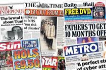 NRS newspapers: Top 5 newsbrands attract 46 million readers per week