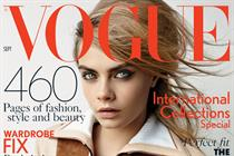 Publisher says 'f*ck the begrudgers' as Vogue hits all-time high in September