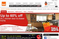 B&Q plots website redesign