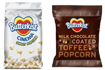 Butterkist unveils chocolate-toffee flavour with digital push