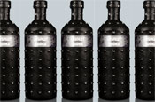 Absolut Vodka dons studded leather cover