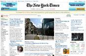 Time spent on US newspaper websites in decline