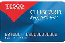Tesco launches Christmas Clubcard push