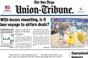 San Diego Union-Tribune cuts 112 jobs