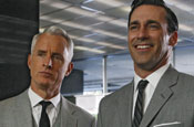 US television reviewers given preview of third series of Mad Men