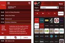 Virgin Media launches remote record TiVo app