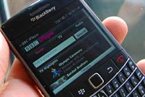 BBC iPlayer launches BlackBerry app