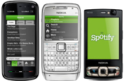 Spotify extends mobile reach with Symbian app