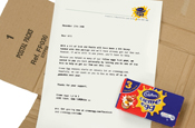 CMW releases Creme Egg goo through direct mail