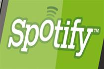 Spotify attracts blue chip US brands
