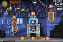 Angry Birds debut brand tie-up tops BR app chart