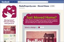 FindaProperty.com launches house move Facebook app