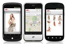 H&M continues investment in mobile with Android app