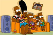 The Simpsons turn black for Angolan television debut