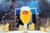 Stella Artois uses augmented reality in Christmas card campaign