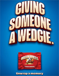 Burton's Foods asks men to 'unwrap a memory' in ads for relaunched Wagon Wheels