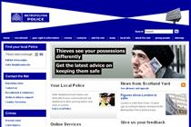 Crime map website swells Met Police traffic