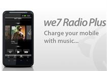 We7 launches personalised radio mobile app