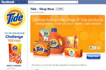 P&G launches six new Facebook stores