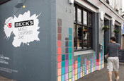 Beck's takes over London hipster hangouts