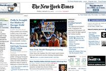 New York Times paywall to cost less than $20 a month