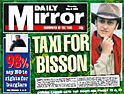 Daily Mirror circulation continues to slide below 2m