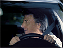 Dustin Hoffman reprises Graduate role for Audi A6 spot