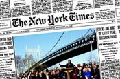New York Times family keep faith as dividend is cut 74%