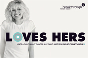Sophie Dahl fronts new breast cancer campaign