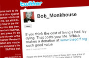 Prostate Cancer Research run Bob Monkhouse twitter feed