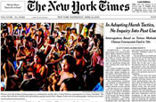 New York Times Company reports $74m loss
