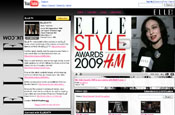 ElleUK.com launches Elle TV videos on YouTube