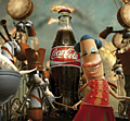 Coke shows happiness in a bottle for new campaign