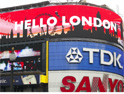 Coca-Cola unveils intelligent billboard at Piccadilly Circus