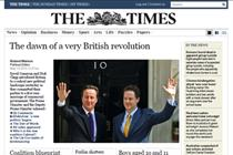 Times paywall is an 'empty world'