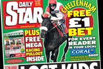 Daily Star lifts Saturday and weekday cover price