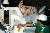 Adidas parties with Beckham and Perry in Originals push
