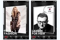 H&M iPhone app approaches 1.5 million downloads