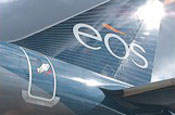 Business airline Eos files for bankruptcy
