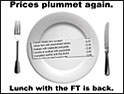 Financial Times launches 'Lunch with the FT' promotion