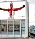 Rooney in celebratory lion's roar alongside the M4