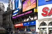 Piccadilly Circus ad display gets new LED ticker