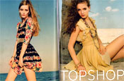 Topshop fights off criticism for use of 'underweight' models