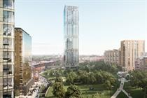 Plans submitted for 40-storey Manchester tower