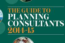 Guide to Planning Consultants 2014-15 - Making the best use of consultants