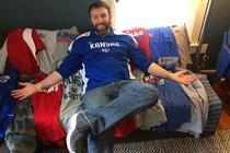 Brand Superfan of the Week: KU Jayhawks' Michael Coggins