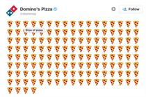 Domino's lets customers order pizza via emoji