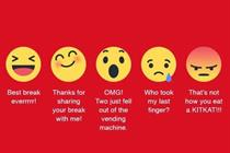 How six brands reacted to Facebook's new Reactions