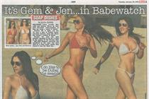 UK's Sun pulls topless models from Page 3