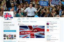 In UK, Tories win Facebook, Labour wins Twitter